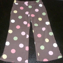 Brown Pants With Polka Dots-Gymboree Size 3