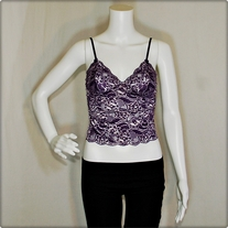 Purple Lace Camisole