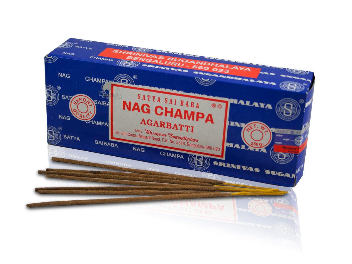 Satya Sai Baba Classic Nag Champa Agarbatti 250 G Grams