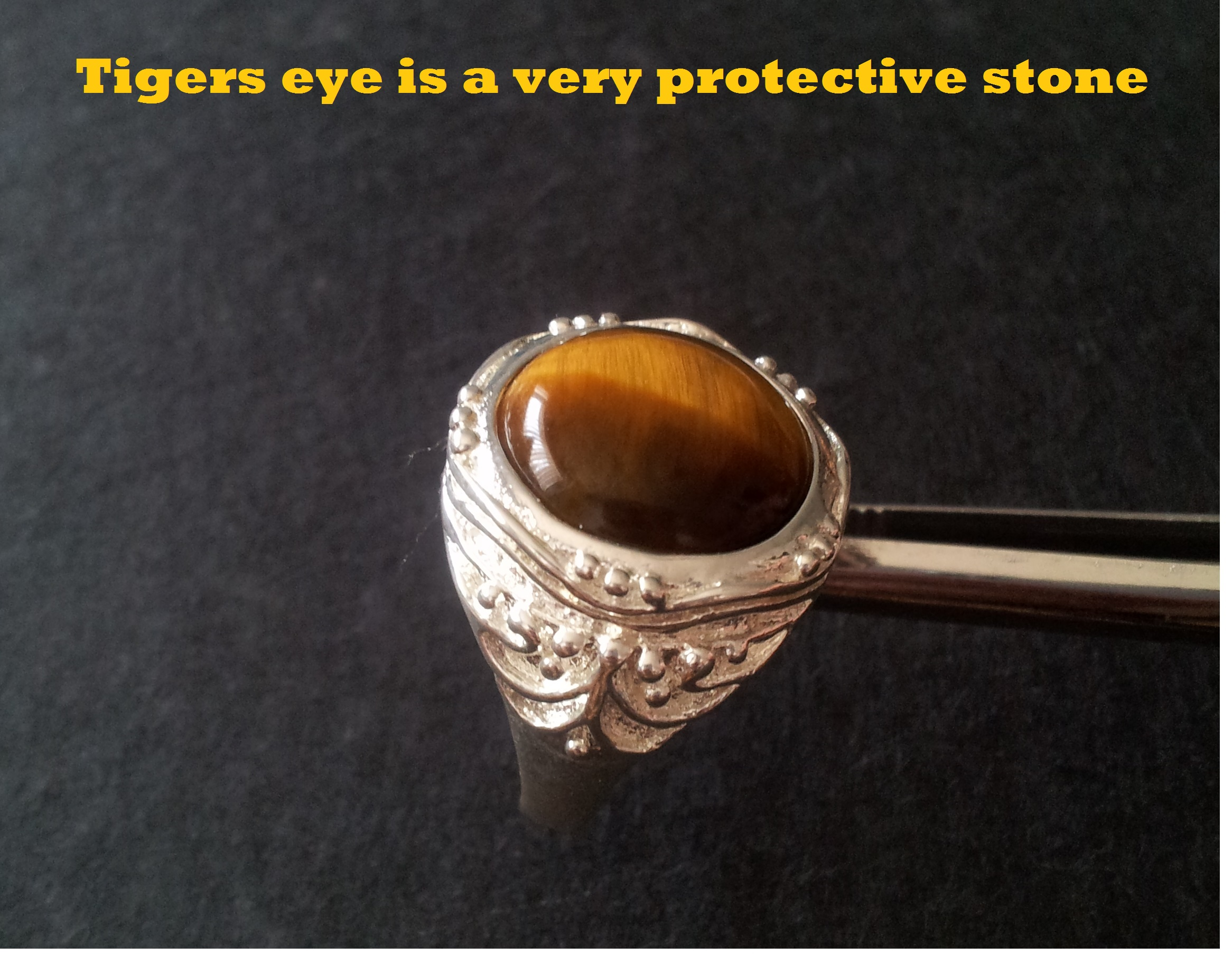 tiger tigers oblacoder elegant resin real men for eye rings stone ring