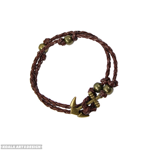 Bronze Anchor Bracelet