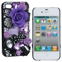Diamond Pearl Flower Case