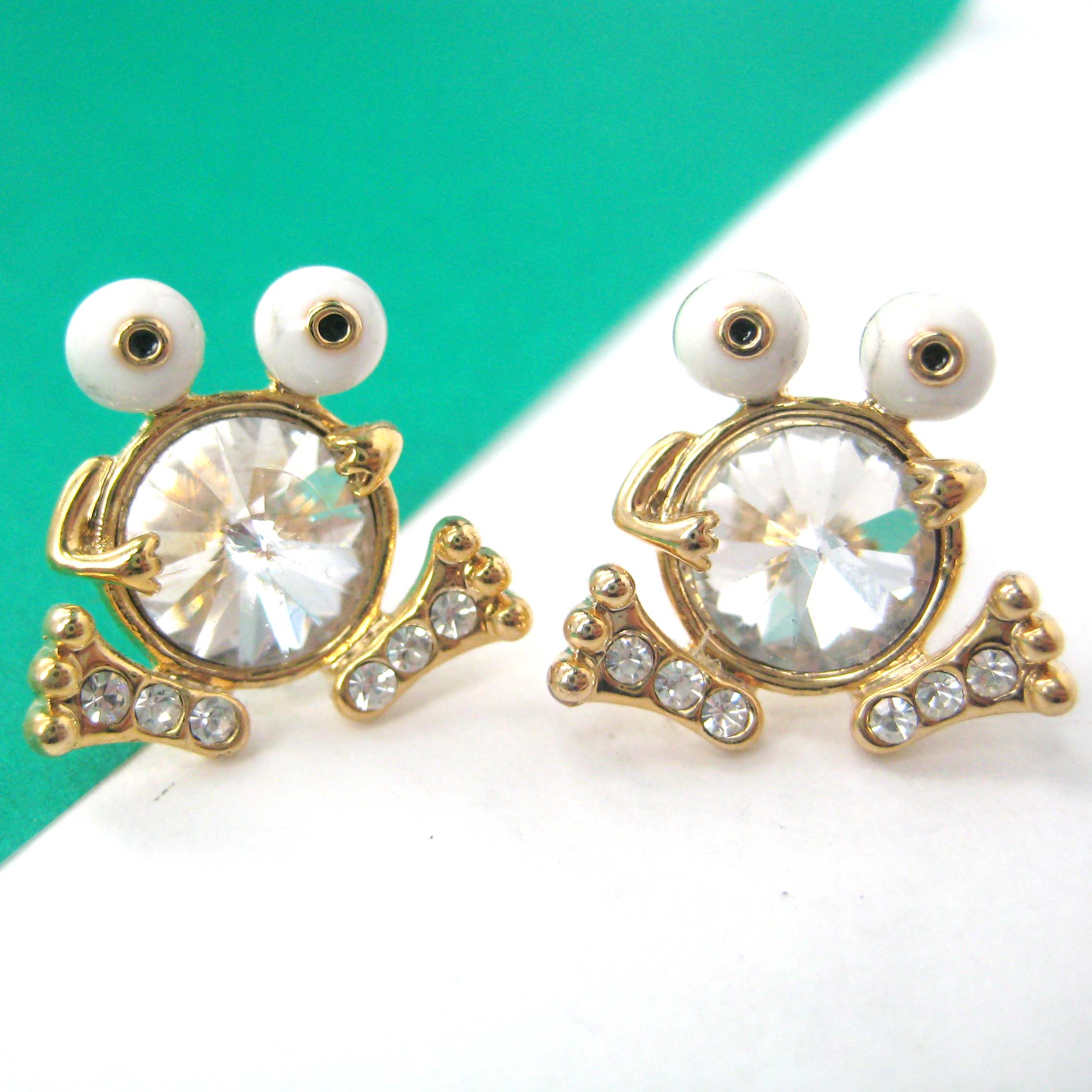 earrings bijou stud dinny hall gold solid small diamond all star studs collections