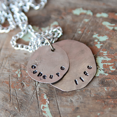 Coin necklace {photography inspired quotes}