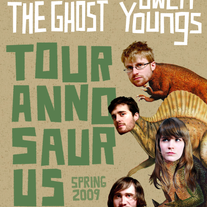 SALE!! JENNY + JUKEBOX THE GHOST Tour Poster