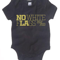 NOLA No White Flags Onesie