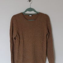 J.Crew Chestnut Cable Knit Sweater