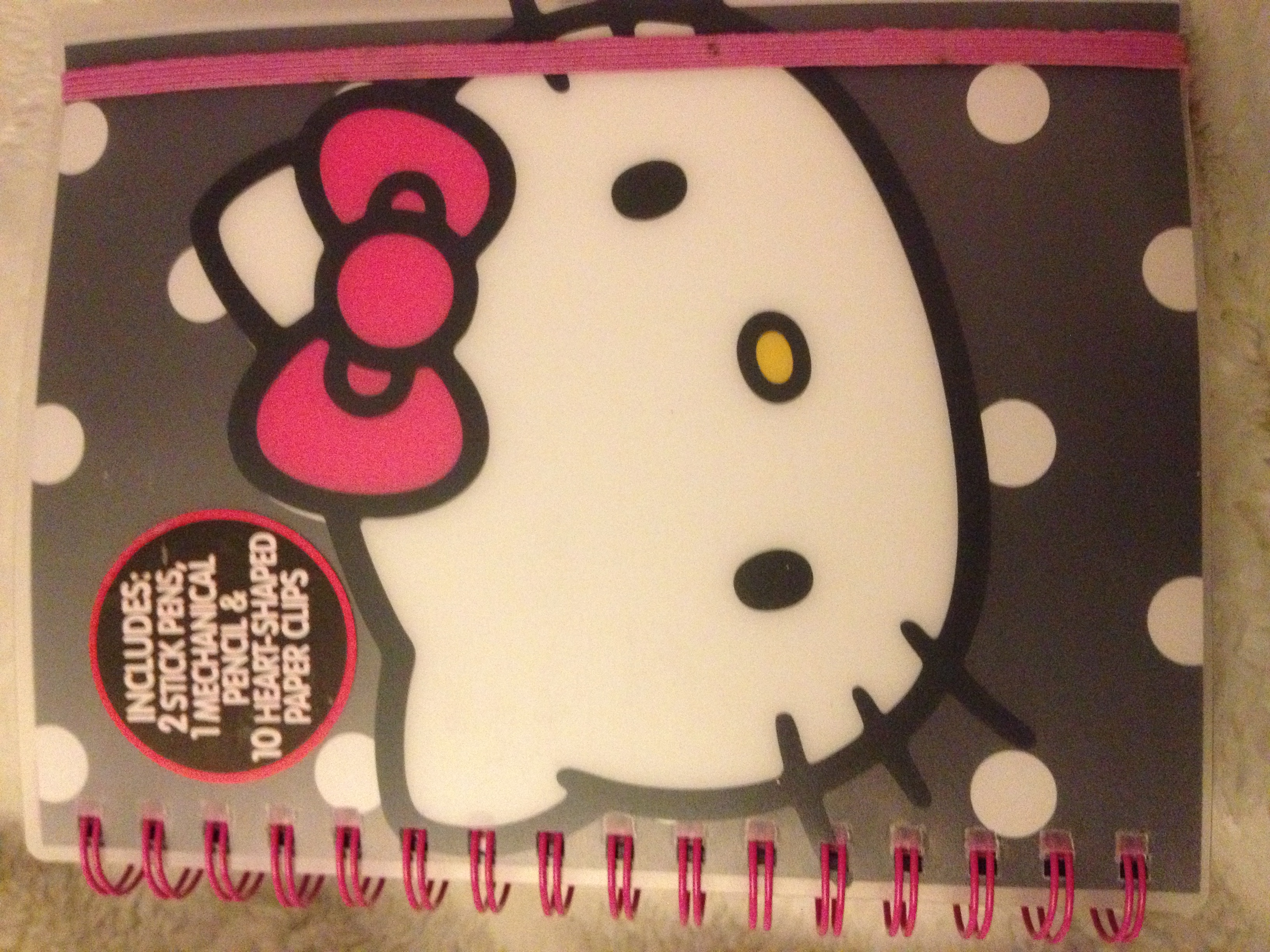 aminabella boutique hello kitty impacted journal. Black Bedroom Furniture Sets. Home Design Ideas