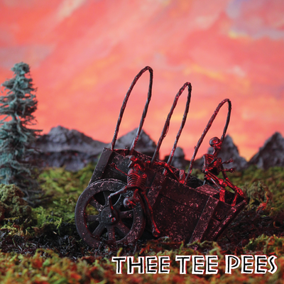Thee tee pees - s/t lp