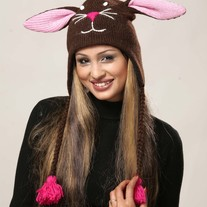 Brown Bunny Hat