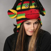Rasta Monkey Hat