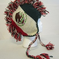 Mexico Flag Mohawk Hat