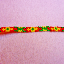 Jingle All The Way Braided Friendship Bracelet