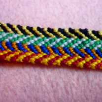 Harry Potter House Colours Braided Friendship Bracelet