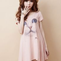 Vestido Gato / Cat Dress 2WH119