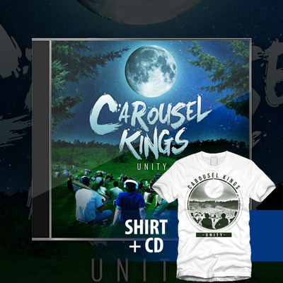 Carousel kings - unity shirt + cd bundle