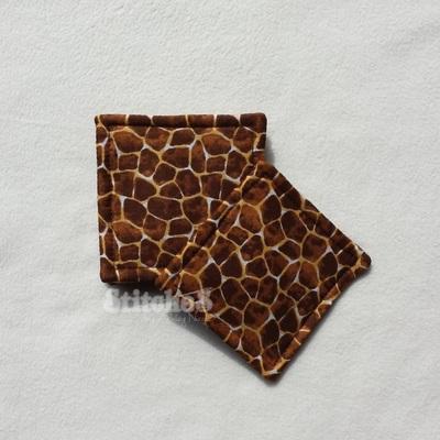 Giraffe and Tie-Dye Coasters