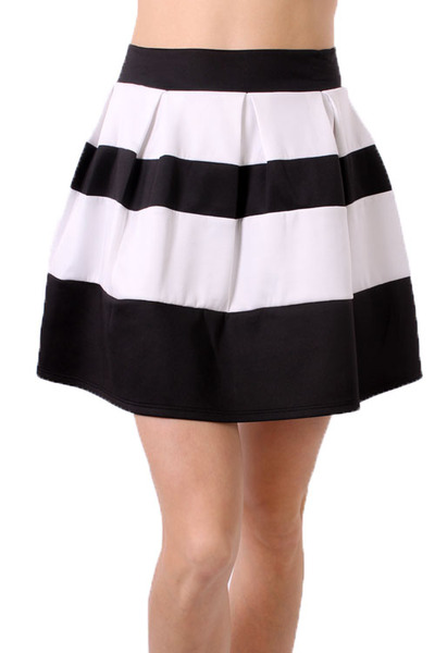 Black and White Striped skirt u00b7 Trendy Mindy u00b7 Online Store Powered by Storenvy