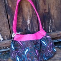 Pink & Brown Buttercup Bag