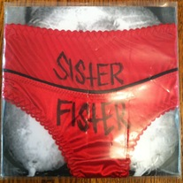 "Sister Fister ""S/T"" 7"" (Self Released)"