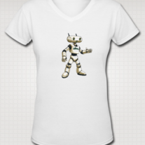 """ADIUVO"" T Shirt for Women (White)"