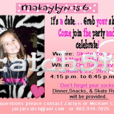 Custom invitations, valentines,save the date, event, etc cards