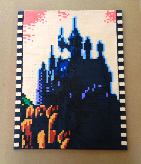 castlevania 3  portrait in perler beads on storenvy