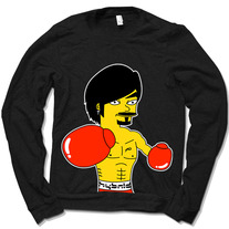 Manny/Simpson Crewneck (Black)
