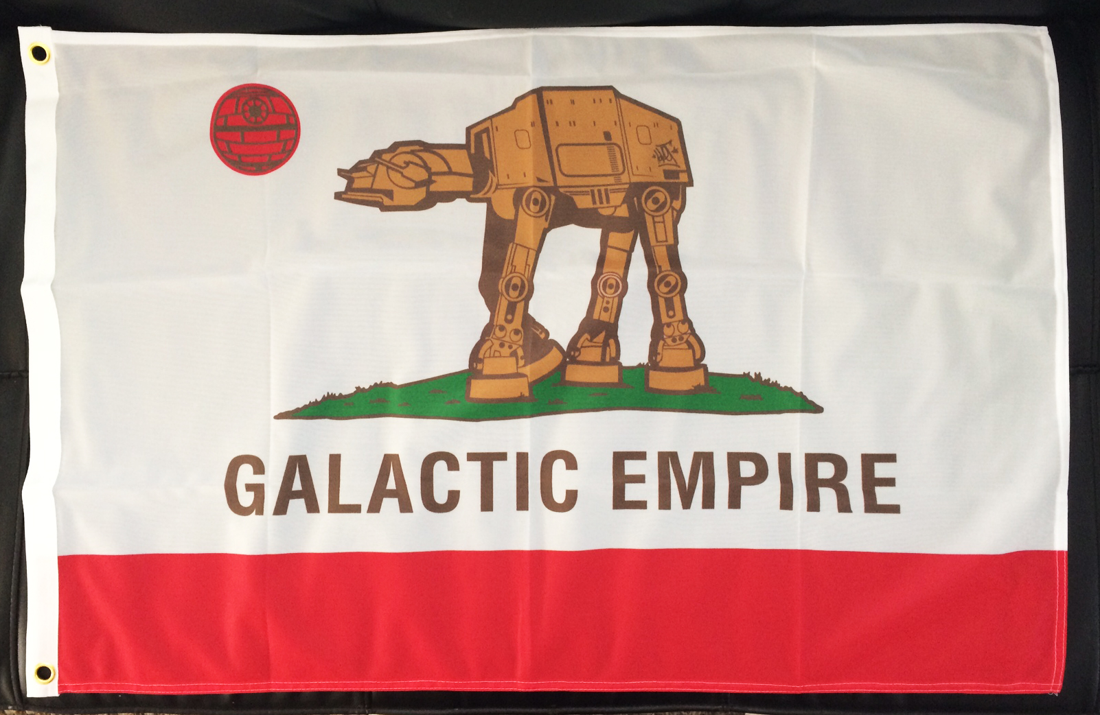 6ft X 4ft Galactic Empire Flag California Colorway