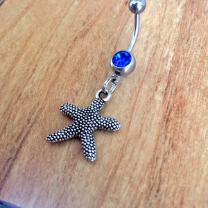 Starfish Belly Ring