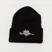 Diamond King Beanie (Black/Grey)