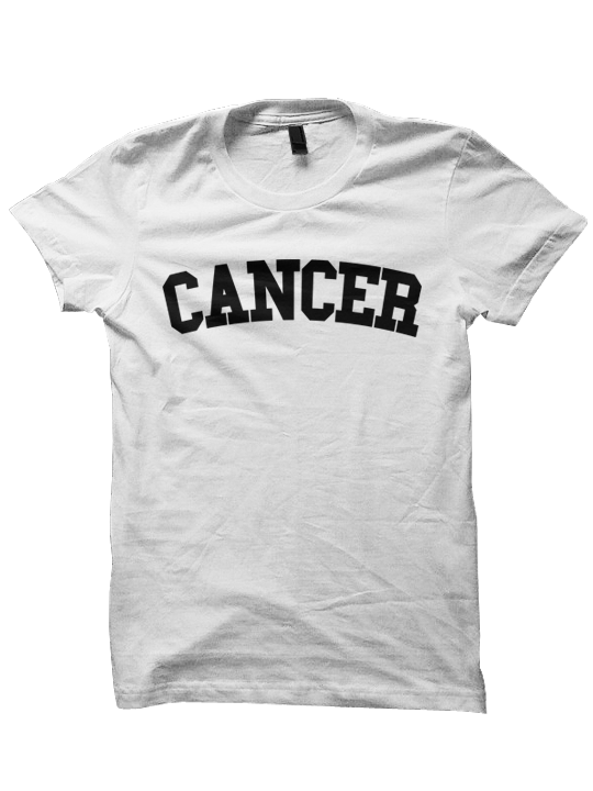 CANCER T SHIRT TEAM ZODIAC SIGN SHIRTS COOL HIPSTER CLOTHES GIFTS FOR