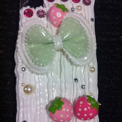 Strawberry shortcake decoden iphone 4/4s case