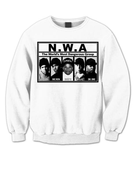 N W A Sweatshirt Dr Dre Ice Cube Eazy E Shirts Fans Hip