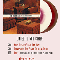 "The Starting Line- The Make Yourself At Home Ep(10"" Vinyl Re-issue) Limited to 500 Total Copies"