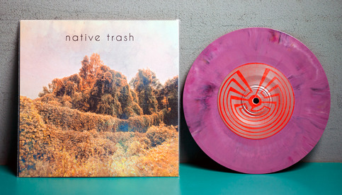 "Native Trash - S/T - 7"" Vinyl"