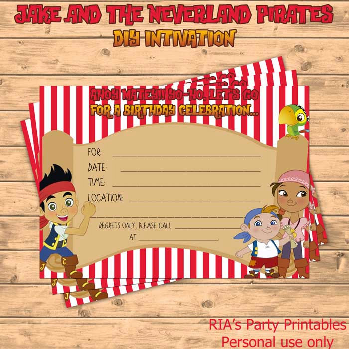 Free Printable Jake And The Neverland Pirates Cupcake Toppers jake and ...