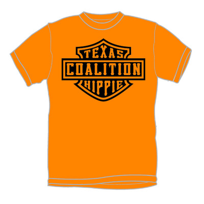 Orange harley shirt