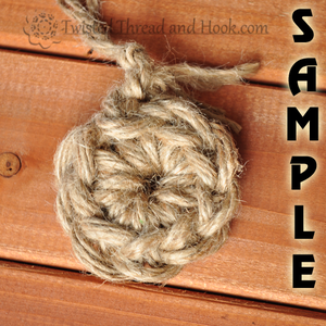 Sample - Jute Rope Rugs and Mats
