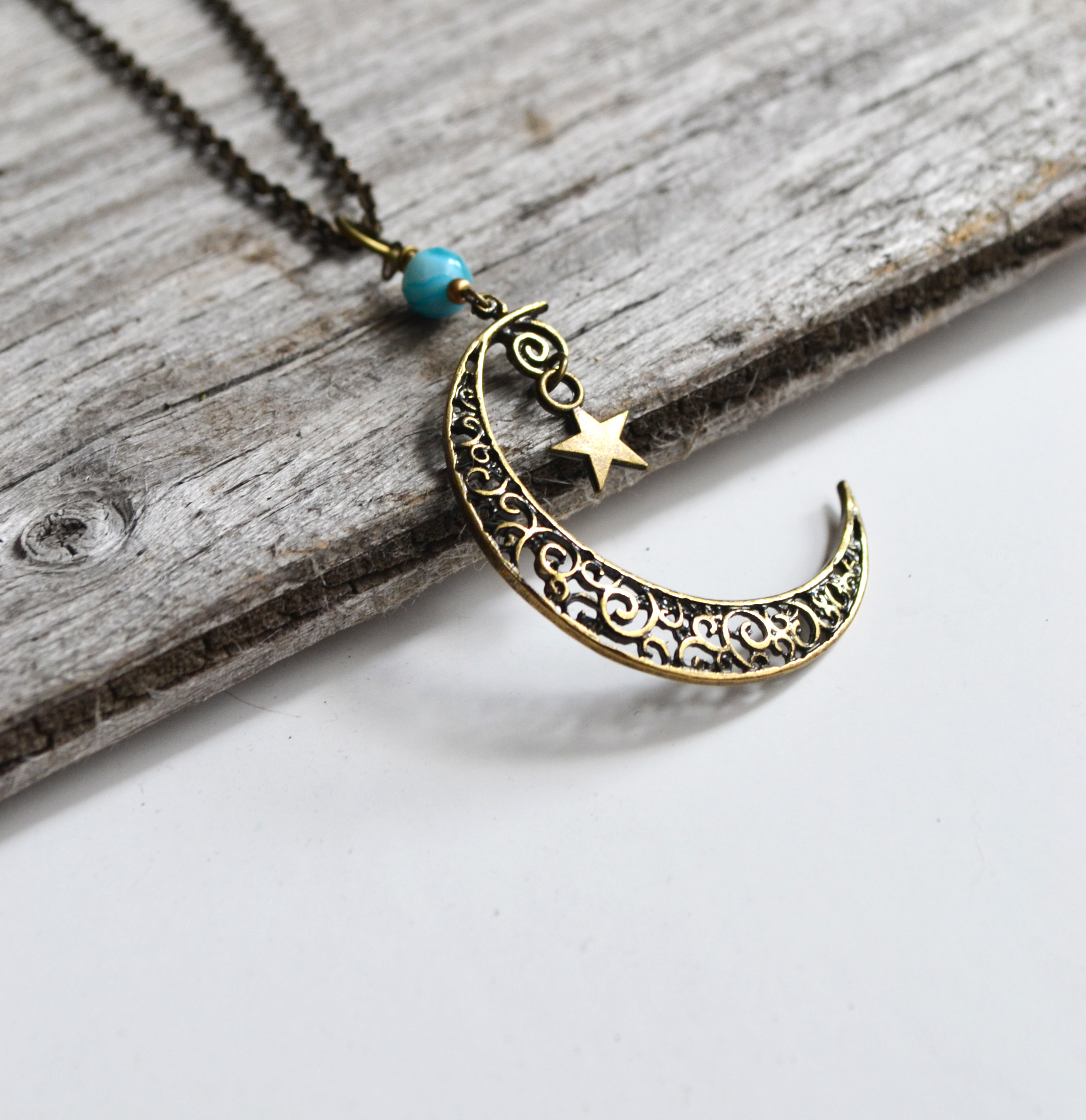 pendant products moon enlarged realreal jewelry necklaces necklace the half