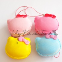 RARE Squishy Hello-Kitty Macarons