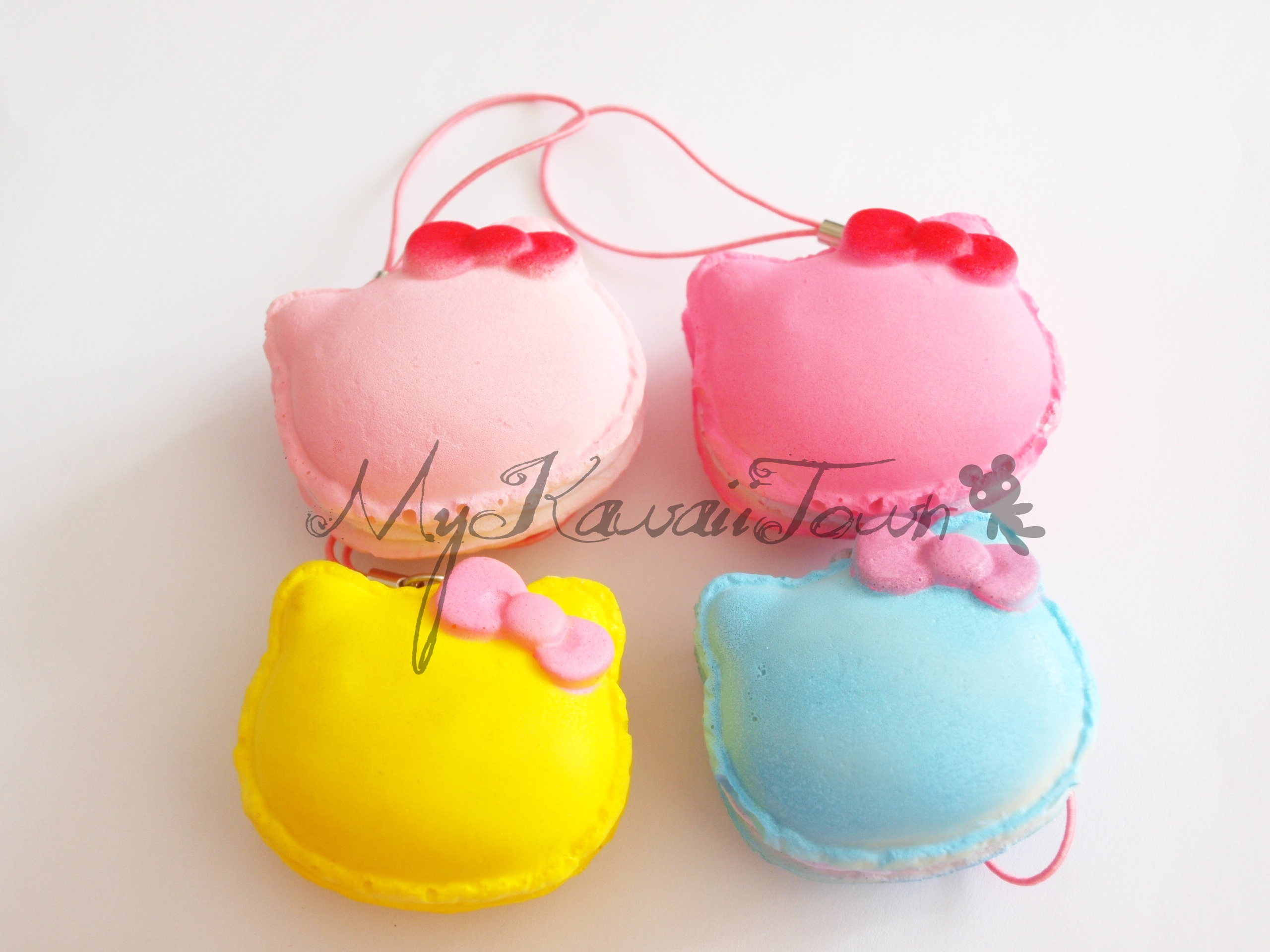 Mykawaiitown RARE Squishy Hello-Kitty Macarons Online Store Powered by Storenvy