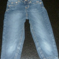 Denim Jeans-Justice Size 6 Regular