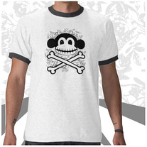 Skeleton Crossbones Tee