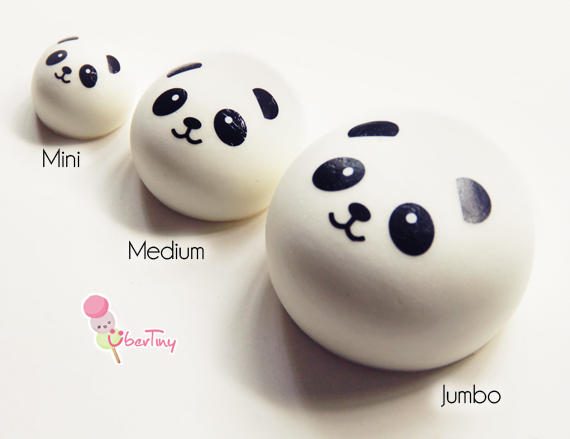10cm Jumbo Panda Squishy Bun ? Uber Tiny ? Online Store Powered by Storenvy