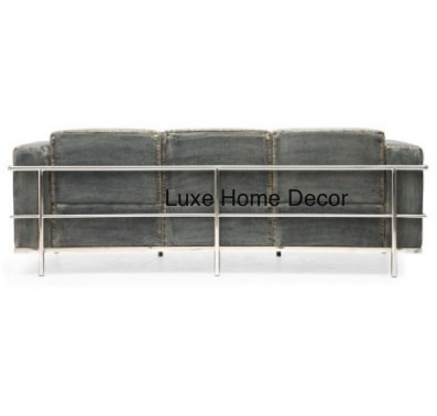 Denim Sofa Luxe Home Decor Furnishings Online Store