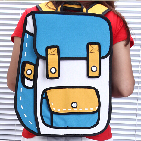 Fashion 3D Cartoon Backpack · Harajuku fashion · Online ...
