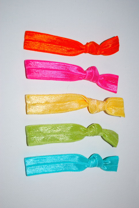 The Olivia Set- 5 No-Crease Hair Ties