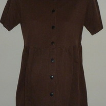 Brown/Black Gingham Top-Dividends Maternity Size Small