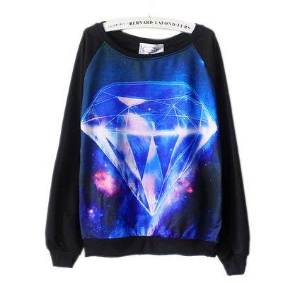 Hipster diamond sweater